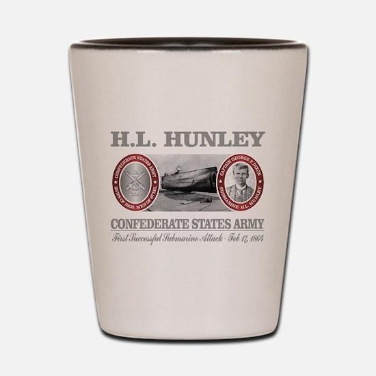 HL Hunley (Dixon) Shot Glass
