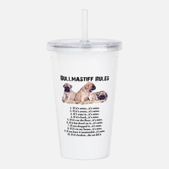 Cool Dog breed Acrylic Double-wall Tumbler