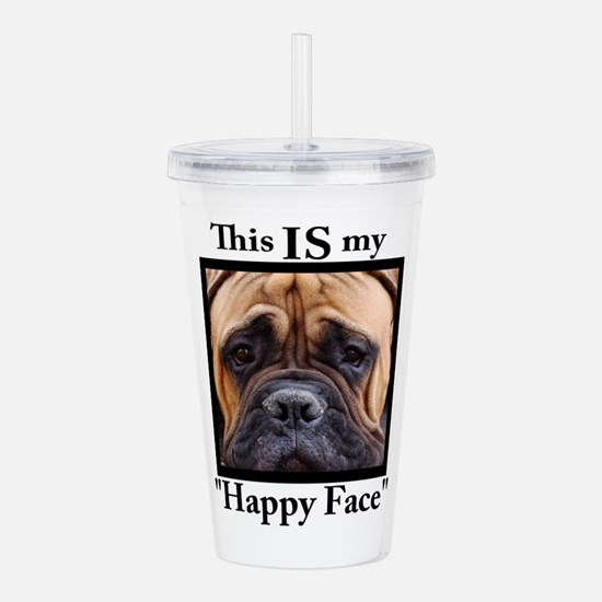 Funny Dog breed Acrylic Double-wall Tumbler