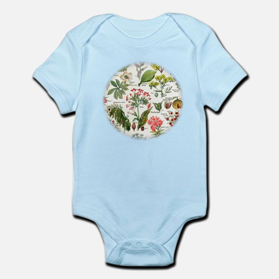Botanical Illustrations - Larousse Plant Body Suit