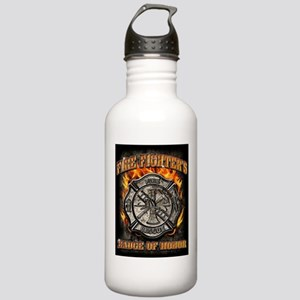 Badge Of Honor Stainless Water Bottle 1.0L