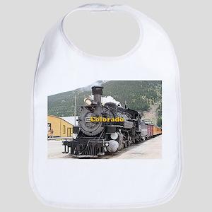 Colorado: Steam train engine Silverton, U Baby Bib