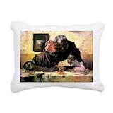 African american Rectangle Canvas Pillows