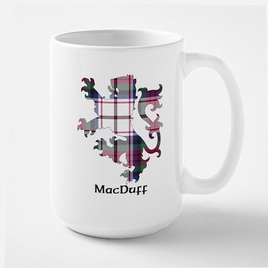 Lion-MacDuff dress Large Mug