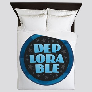 DEPLORABLE Queen Duvet