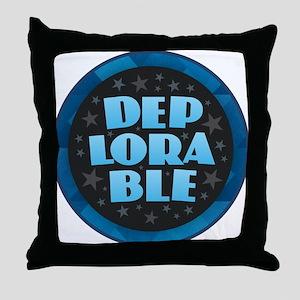 DEPLORABLE Throw Pillow