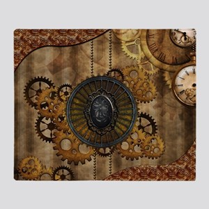 Streampunk, elegant design with clocks and gears T
