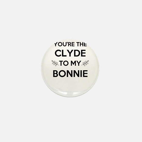 Bonnie and Clyde shirts Mini Button