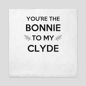 Bonnie and Clyde shirts Queen Duvet