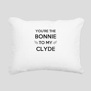 Bonnie and Clyde shirts Rectangular Canvas Pillow