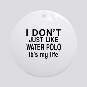 Awesome Water Polo Sports Designs Round Ornament