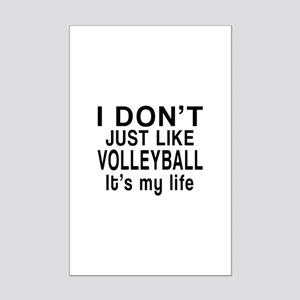 Awesome Volleyball Sports Design Mini Poster Print