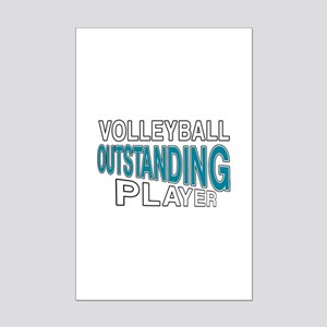 Volleyball Outstanding Player Mini Poster Print
