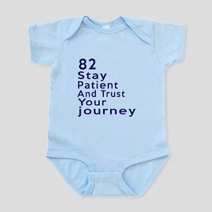 Awesome 82 Birthday Designs Infant Bodysuit