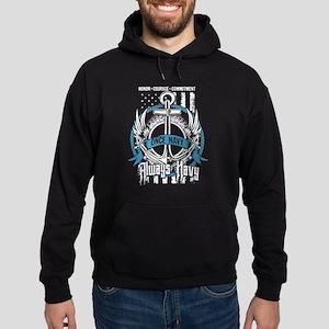 Once Navy Always Navy T Shirt Sweatshirt