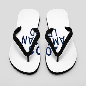 2008 American Legend Birthday Designs Flip Flops