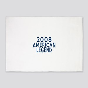 2008 American Legend Birthday Desig 5'x7'Area Rug