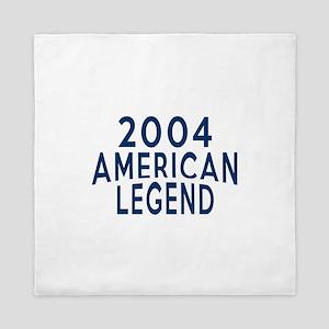 2004 American Legend Birthday Designs Queen Duvet