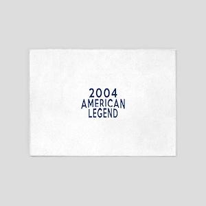 2004 American Legend Birthday Desig 5'x7'Area Rug
