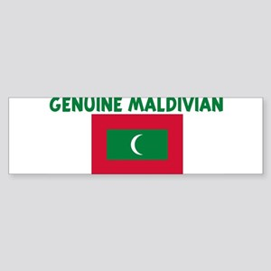 GENUINE MALDIVIAN Bumper Sticker