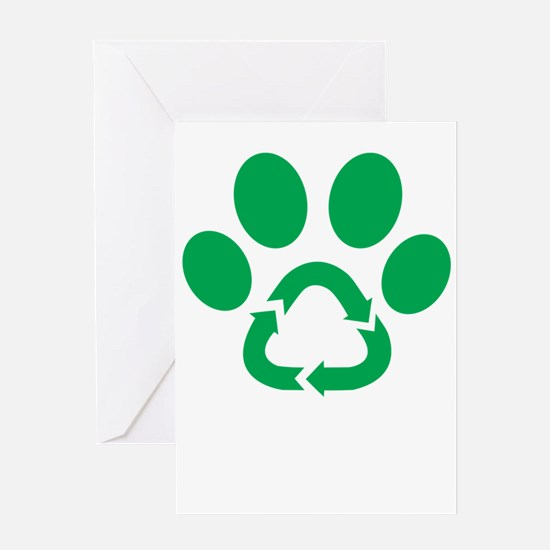 paw power Greeting Cards