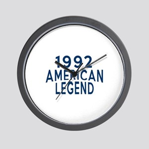 1992 American Legend Birthday Designs Wall Clock