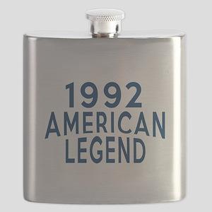 1992 American Legend Birthday Designs Flask