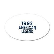 1992 American Legend Birthda Wall Decal
