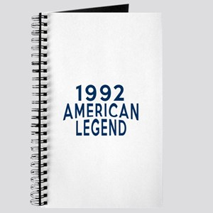 1992 American Legend Birthday Designs Journal