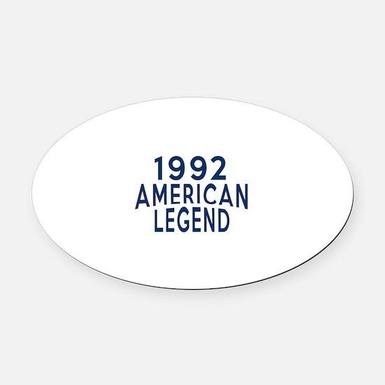 1992 American Legend Birthday Desi Oval Car Magnet