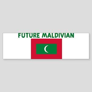 FUTURE MALDIVIAN Bumper Sticker