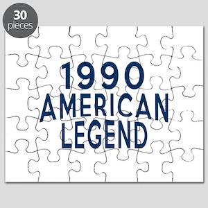 1990 American Legend Birthday Designs Puzzle