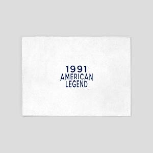 1991 American Legend Birthday Desig 5'x7'Area Rug