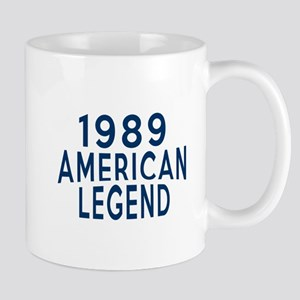 1989 American Legend Birthday Designs Mug