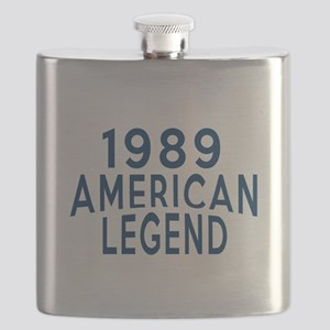 1989 American Legend Birthday Designs Flask