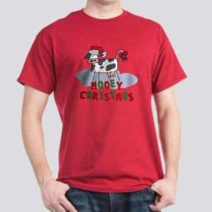 Mooey Christmas Dark T-Shirt