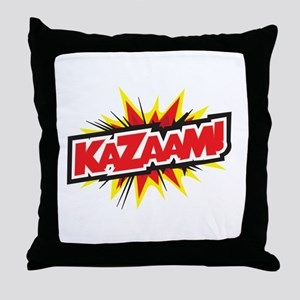 KAZAAM! Throw Pillow
