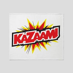 KAZAAM! Throw Blanket