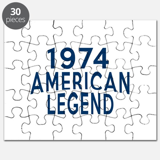 1974 American Legend Birthday Designs Puzzle