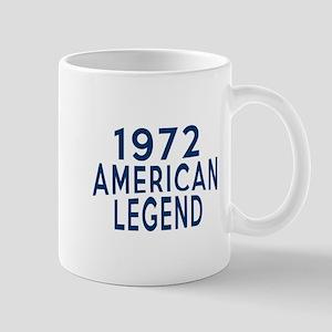 1972 American Legend Birthday Designs Mug