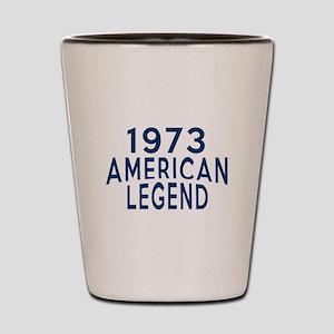 1973 American Legend Birthday Designs Shot Glass