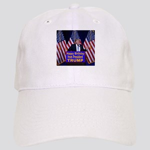 Happy Birthday from President Trump Cap