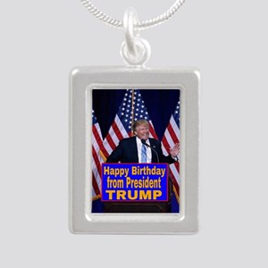 Happy Birthday from President Trump Necklaces