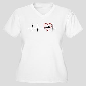 i love swimming Plus Size T-Shirt