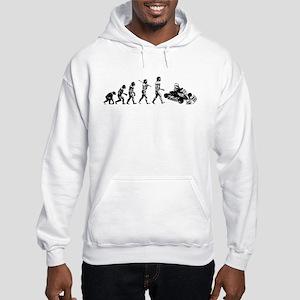 go-cart-white Sweatshirt