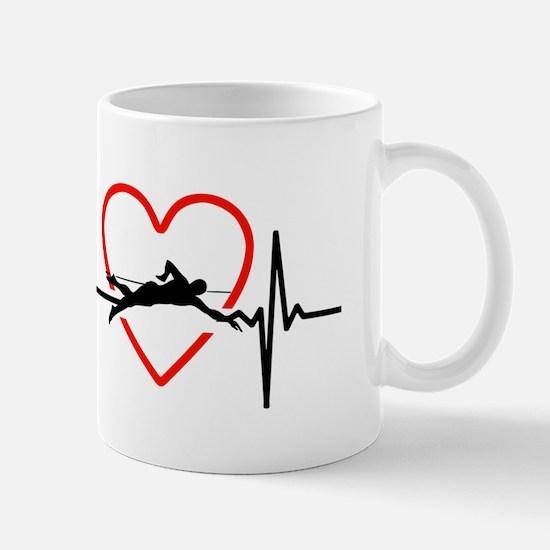 i love swimming Mugs