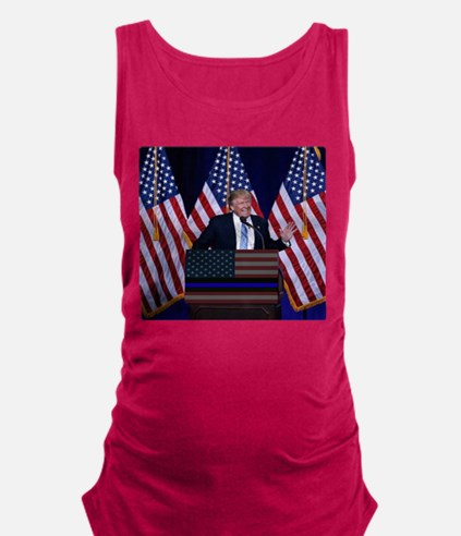 Trump Law and Order President Tank Top