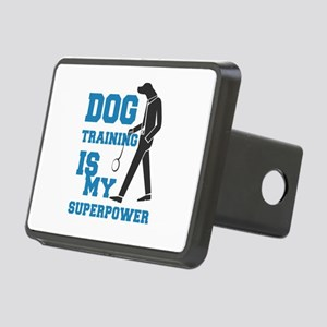 dog training is my supperp Rectangular Hitch Cover