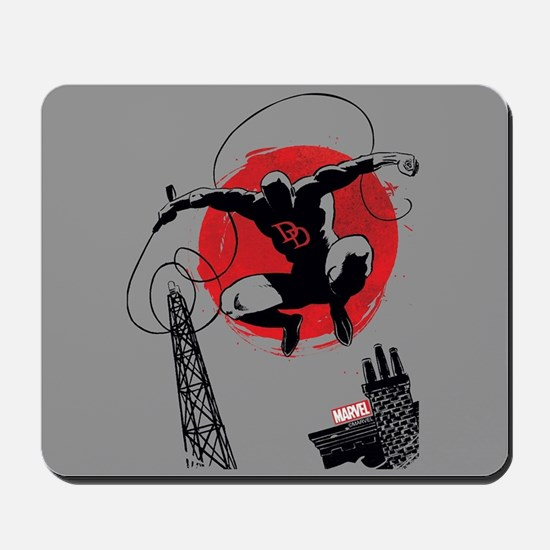 Daredevil Red Moon Mousepad
