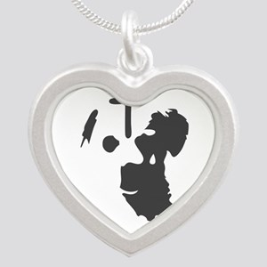 i love dogs Necklaces